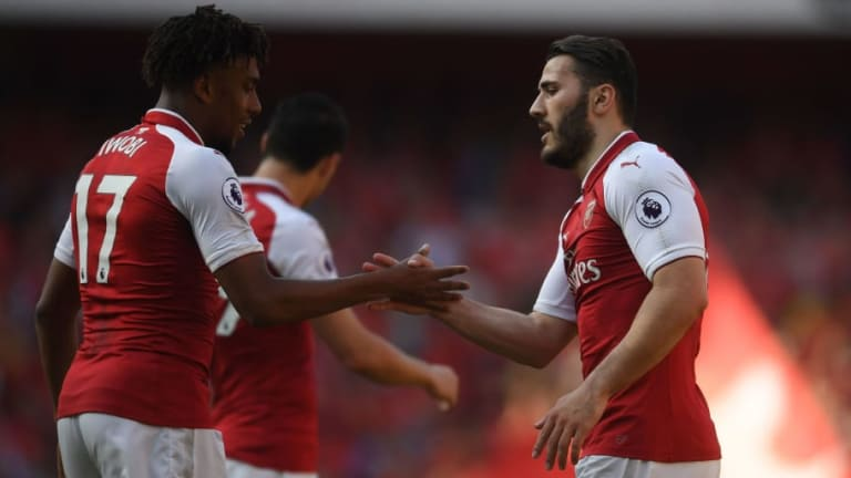 New Arsenal Boss Unai Emery Set to Tie Down Winger Alex Iwobi With New Long-Term Deal