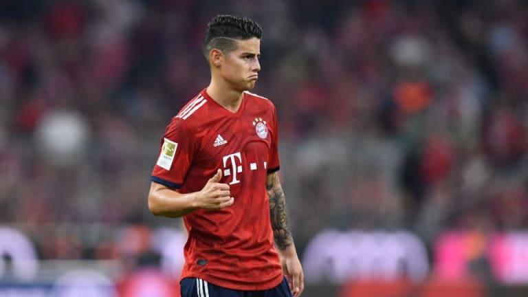 El duro palo que le ha dado a James una leyenda del Bayern de Múnich