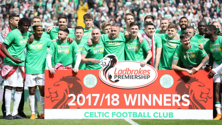 Celtic Utterly Destroy Rivals Rangers 5-0 to Clinch Seventh Consecutive Premiership Title