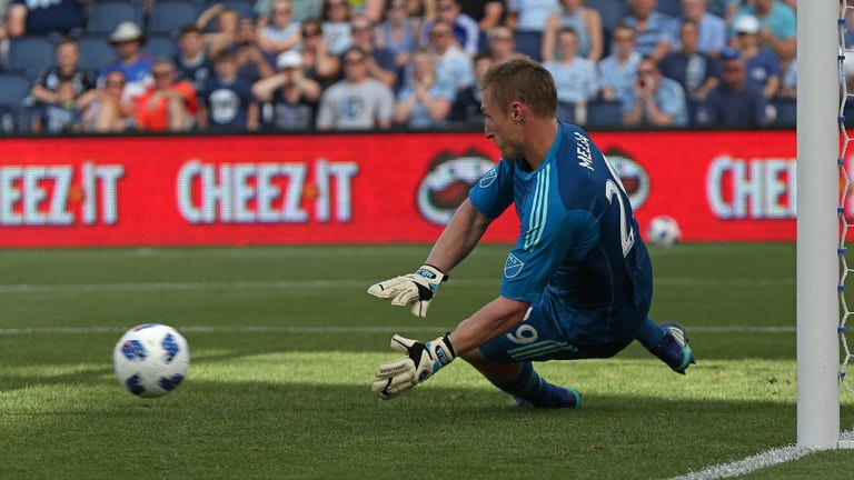 Tim Melia Stops PK, Helps Sporting KC Earn Scoreless Draw With Crew