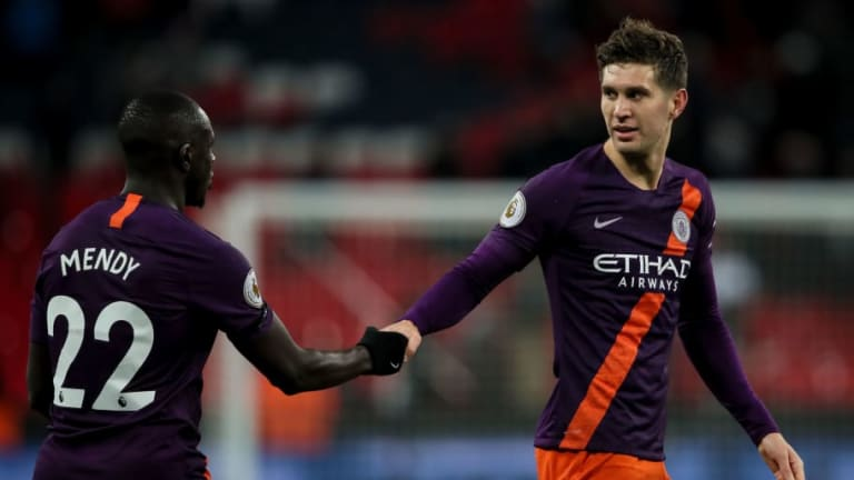 John Stones Admits Manchester City Had to Adapt Their Game On Shocking Wembley Surface
