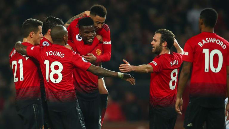 Man Utd 3-1 Huddersfield: Report, Ratings & Reaction as Pogba Stars in Easy Red Devils Win