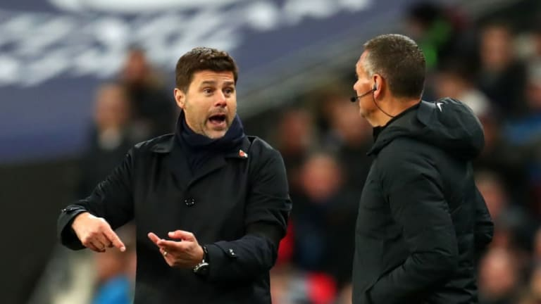 Mauricio Pochettino Says Spurs 'Cannot Compare' to Man City Following 1-0 Loss