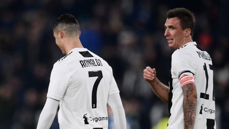 VÍDEO | Mandzukic pone por delante a la Juventus tras pase de Ronaldo