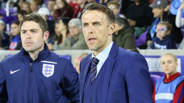 Phil Neville Ends First Tournament as England Women Manager With Second Place Finish