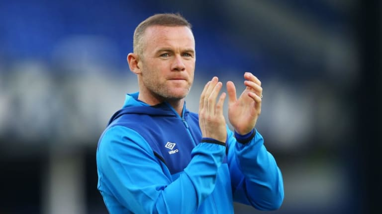Wayne Rooney 'Says Everton Goodbyes' Having Played Final Premier League Game Before MLS Switch