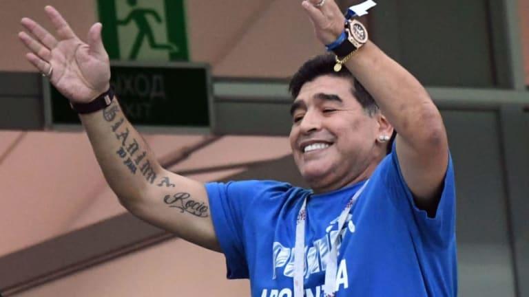 GRUPO A | Las declaraciones Diego Maradona luego de la victoria de Uruguay ante Rusia