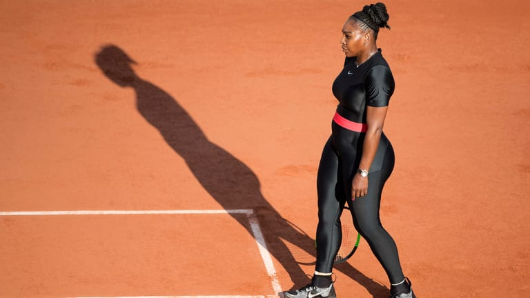 The French Open's Banning of Serena Williams's Catsuit Defies Explanation