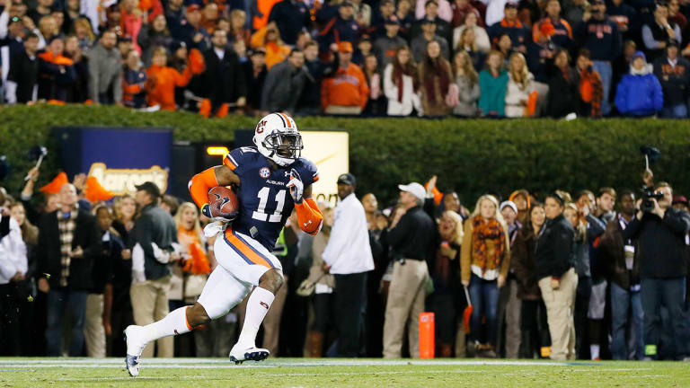 Image result for alabama auburn kick six