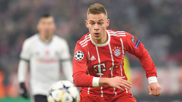 Bayern Munich Defender Joshua Kimmich Reveals the Toughest Player He's Ever Faced