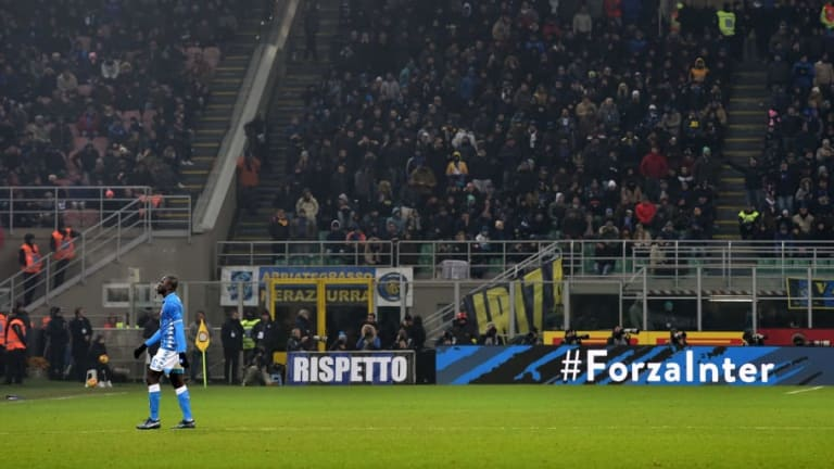 Inter Handed Two Game Stadium Ban After Vile Racist Abuse in Boxing Day Napoli Clash