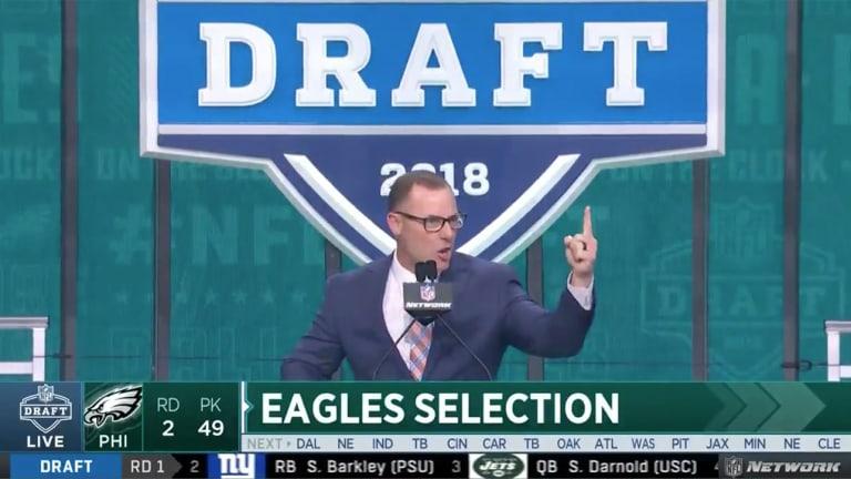 Watch: Former Eagles Kicker David Akers Trolls Cowboys Fans Before Announcing Pick