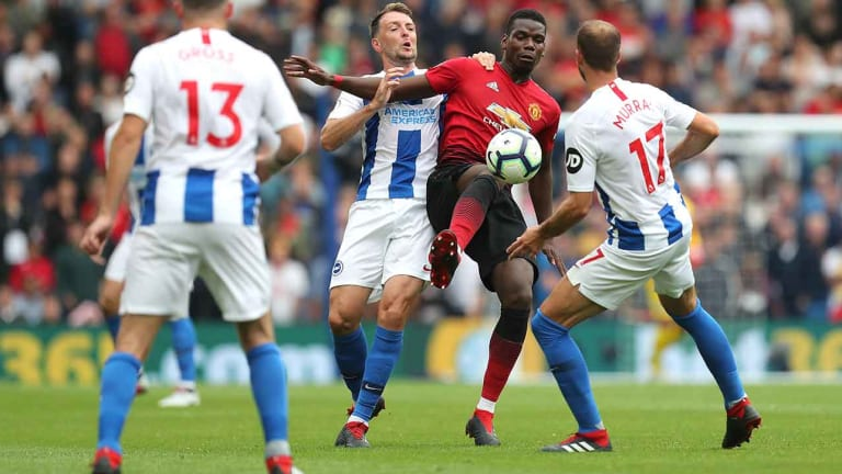 With Sloppy Defending, Man United Loses to Brighton