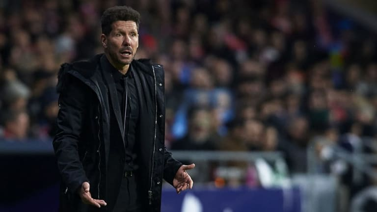 Diego Simeone Insists His Focus Is Solely on Atletico Amid Questions if Real Madrid Are 'Dead'