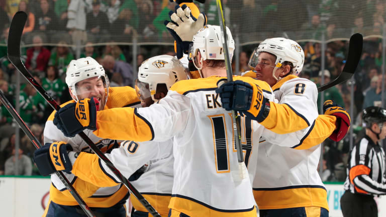 NHL Power Rankings: Can Anyone Catch Up With Nashville?