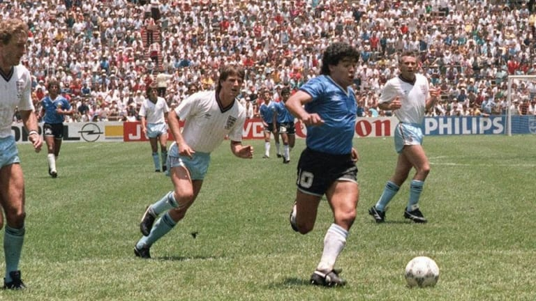 World Cup Countdown: 8 Weeks to Go - The Hand of God & the Dark Side of Diego Maradona