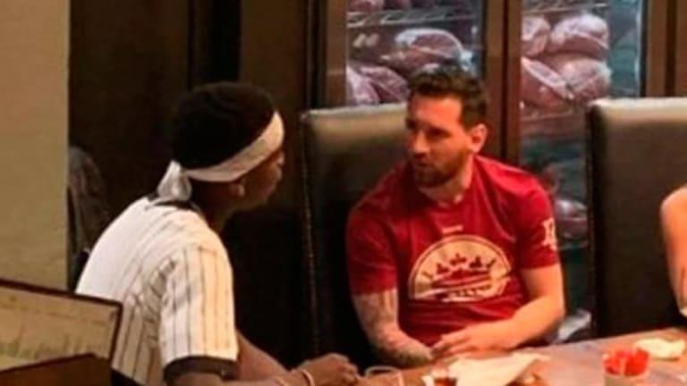 Las palabras que intercambiaron Leo Messi y Pogba durante su encuentro en  Dubai