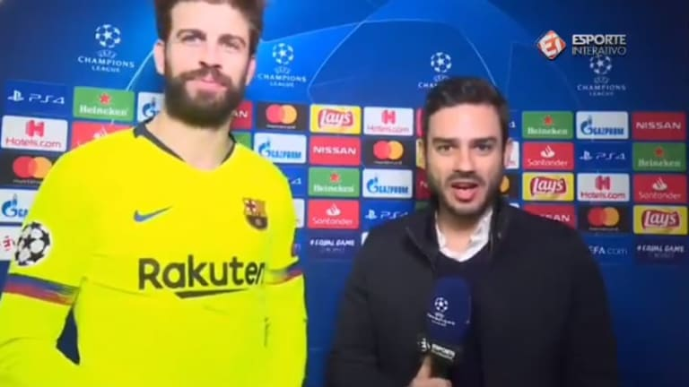 VÍDEO | El periodista extranjero que entrevistó a Piqué en catalán