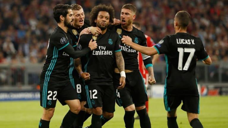 Los defensas con mas goles en la fase KO de la Champions League