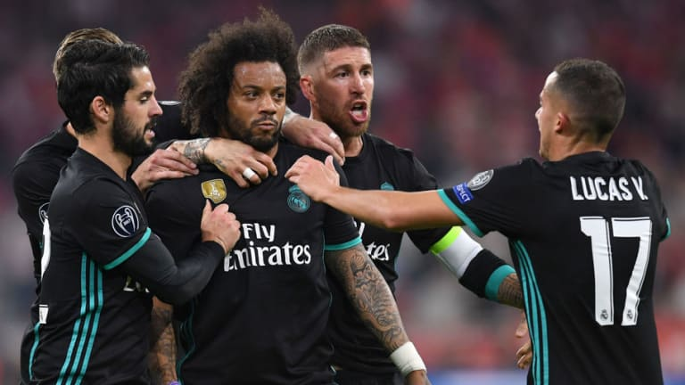 'My Goodness': Twitter Reacts as Full Backs Grab the Headlines in Real Madrid's 1st Leg Win