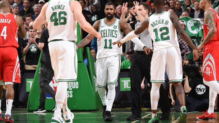 NBA Power Rankings: Kyrie's Celtics Have Been Anything but Flat