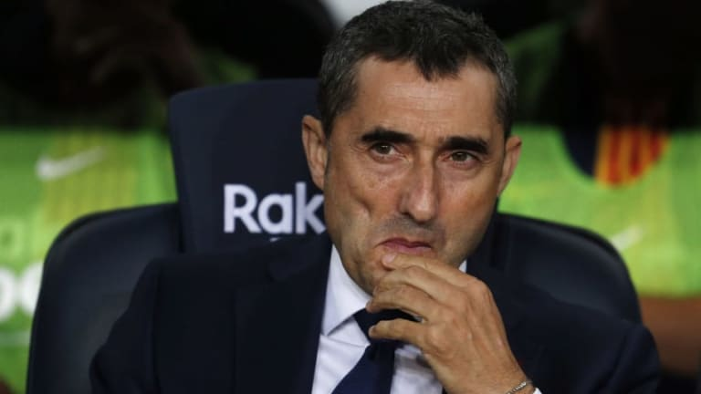 Ernesto Valverde Blasts 'Show Business' Awards as Luka Modric Wins FIFA Gong Ahead of Lionel Messi