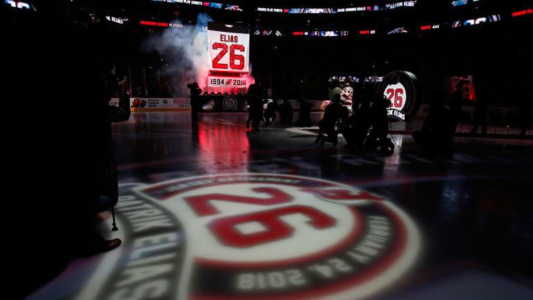 Devils Retire Jersey of All-Time Leading Scorer Patrik Elias