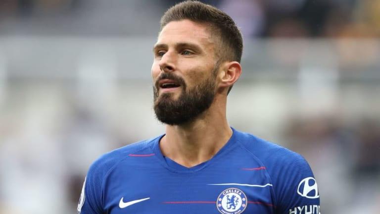 Olivier Giroud Keen to Earn Chelsea Starting Berth as Alvaro Morata's Woes Continue