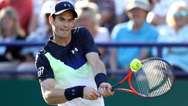 Andy Murray Yet to Commit to Wimbledon After First Comeback Win