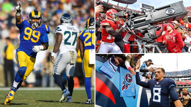 Week 10 Takeaways: Rams Survive Seattle Part II, Mariota Cooks, Tyreek's Celebration Worth the Penalty