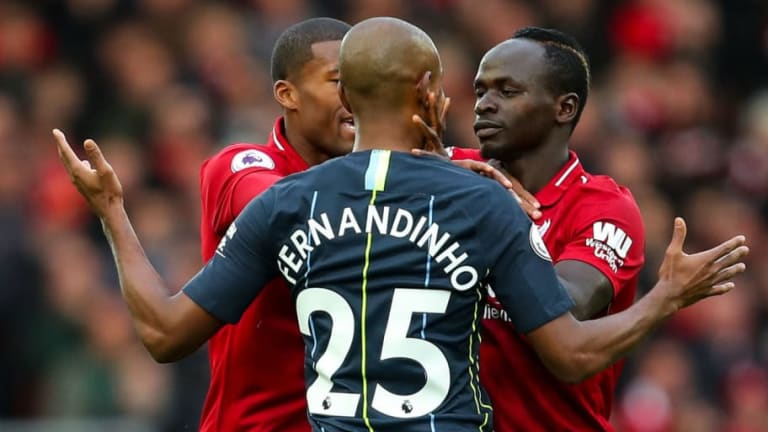 Former Referee Claims Man City Star Fernandinho Should Have Been Sent Off During Draw With Liverpool