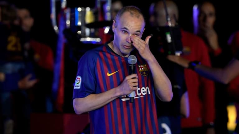 Barcelona Icon Andrés Iniesta Reveals Why He Didn't Like the Club as a Boy