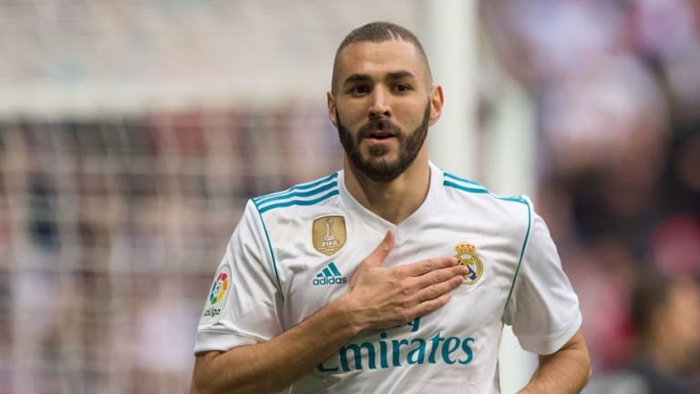 Real Madrid Star Karim Benzema Criticized After Allowing His Children to Play With a Tiger