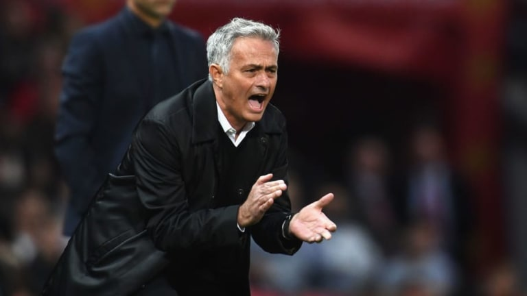 Jose Mourinho IS at Man Utd Training Ground Today Despite Report Implying He Didn't Turn Up