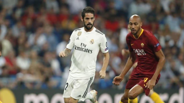 Real Madrid 1-Roma 0 | Golazo de Isco con un preciso tiro libre