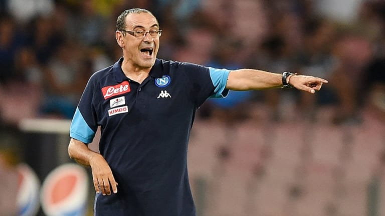 Maurizio Sarri Expecting to Be Hired by Chelsea on Monday in Time for First Day of Pre-Season
