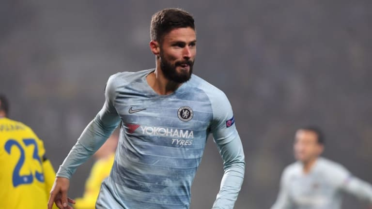 Olivier Giroud Admits He'll Fight for His Place at Chelsea Despite Lack of Playing Time