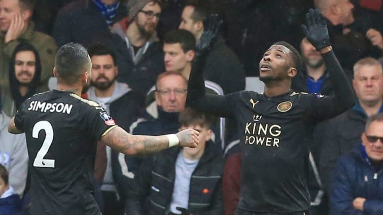 Newcastle United Circle as Kelechi Iheanacho Eyes Leicester City Exit
