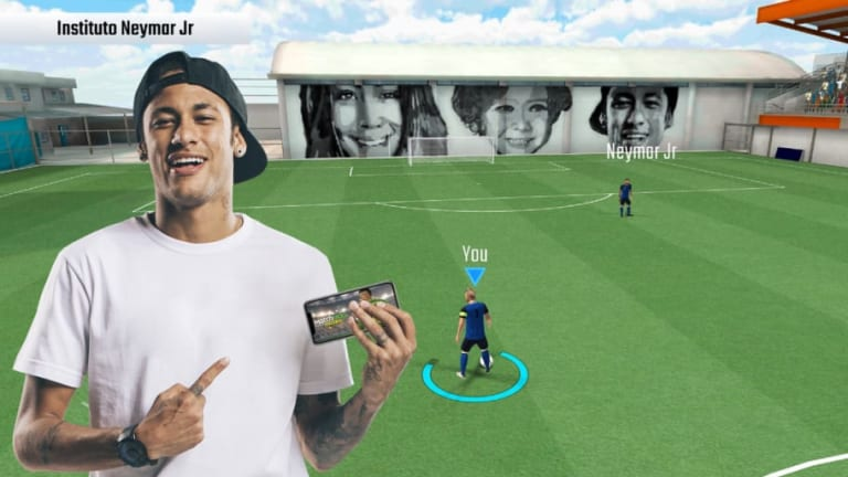 VIDEO: Neymar Jr Launches Massive New 'Match MVP' Mobile Game With Sparkling Gameplay Clips