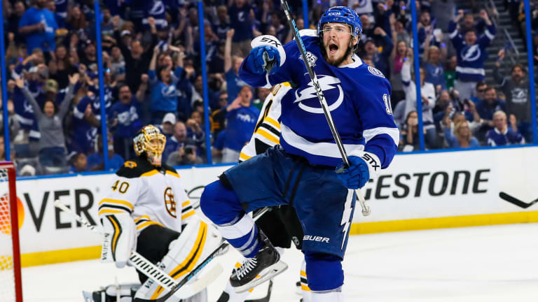 After a Dismal Series Start, Tampa Bay Quickly Regrouped to Reach Eastern Conference Final