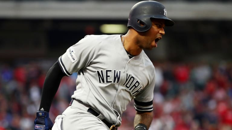 Yankees Outfielder Aaron Hicks Is Absolutely Yoked