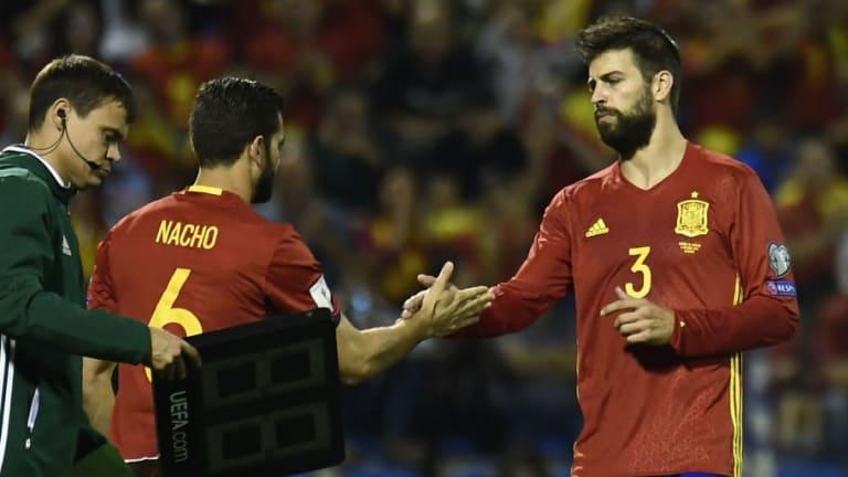 REVELADO | Ya se sabe lo que dijo Piqué en el túnel de vestuarios que enfadó a Nacho