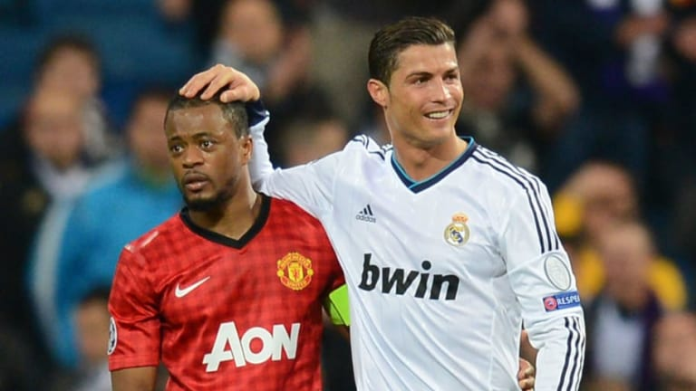 Patrice Evra Shares Amazing Ronaldo Ping Pong Story & Reveals Why You Shouldn't Eat at His House
