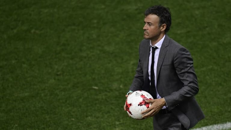 Internal Battle Could Land Brendan Rodgers at Arsenal Despite 'Series of Meetings' With Luis Enrique