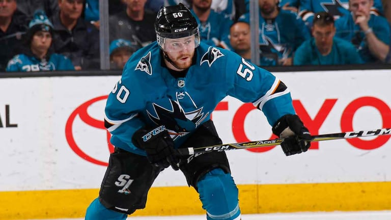 Forward Chris Tierney Re-Signs With Sharks for Two Years