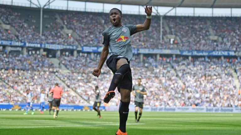 Everton Turn Down £12m RB Leipzig Bid for Ademola Lookman as Toffees Prepare to Blood Young Star