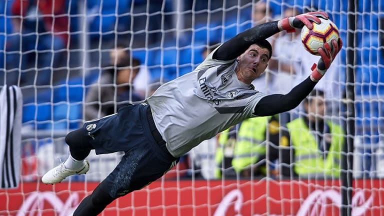 Courtois desmiente los rumores sobre su enfado con el Real Madrid