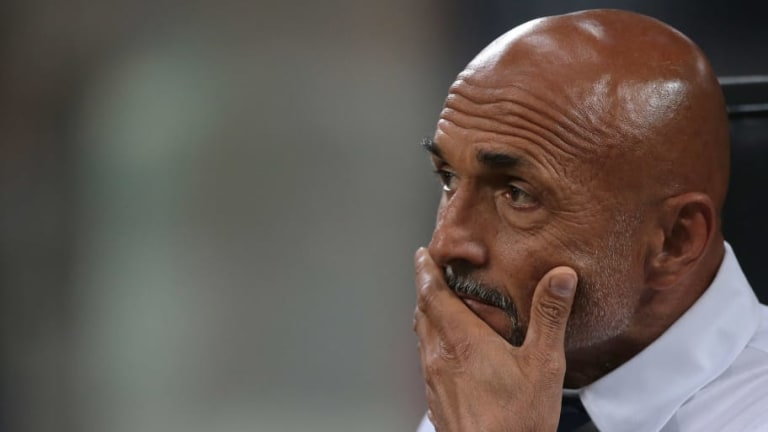 Luciano Spalletti Admits Inter's Players Are Feeling the Pressure After Throwing Away Two Goal Lead