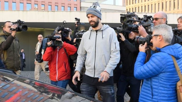 Barcelona Star Gerard Pique Fined €48,000 After Admitting Driving Without Valid License