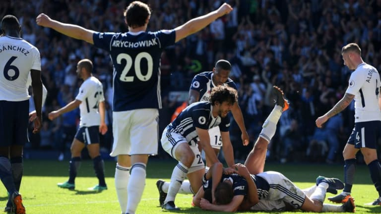 West Brom 1-0 Tottenham Hotspur: Late Jake Livermore Goal Seals Vital Win for Baggies
